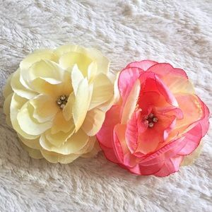 Flower Hair Clip Bundle of 2
